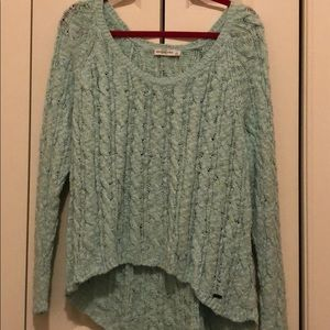 Mint green cute Abercrombie sweater!